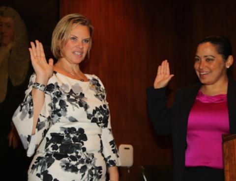 Carrie Anne Cavallo sworn in as Brooklyn Women's Bar Association president